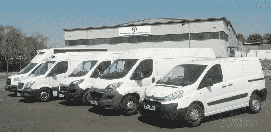 Evesham & Cotswold Couriers Vehicle Fleet